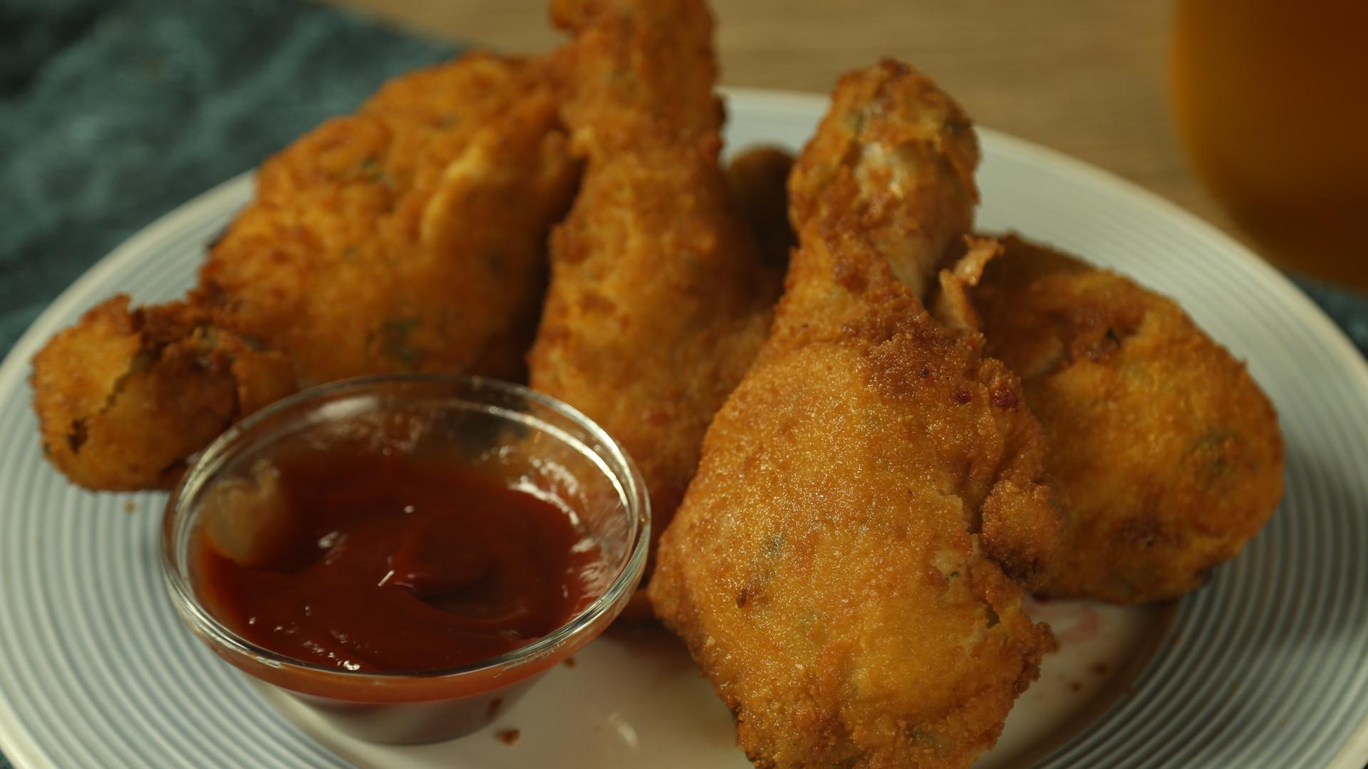 Deep Fried Chicken Legs  how long to deep fry chicken legs