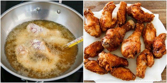 Deep Fried Chicken  Korean Fried Chicken My Korean Kitchen