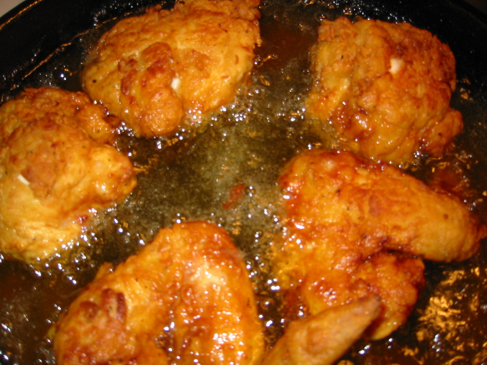 Deep Fried Chicken  Recipe Southern Fried Chicken with Moroccan Spices