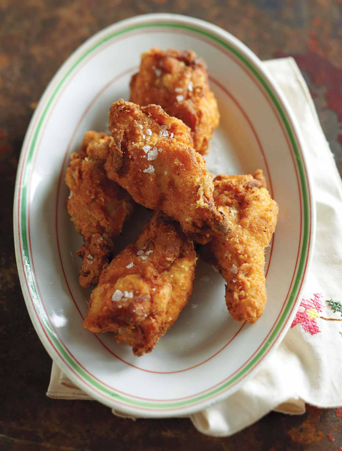 Deep Fried Chicken Wings Recipe  how long to cook deep fried chicken wings