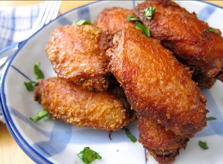 Deep Fried Chicken Wings Recipe  Thai Deep Fried Chicken Wings