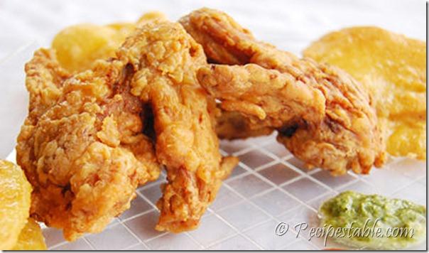 Deep Fried Chicken Wings Recipe  Deep Fried Chicken Wings Recipe RecipesTable