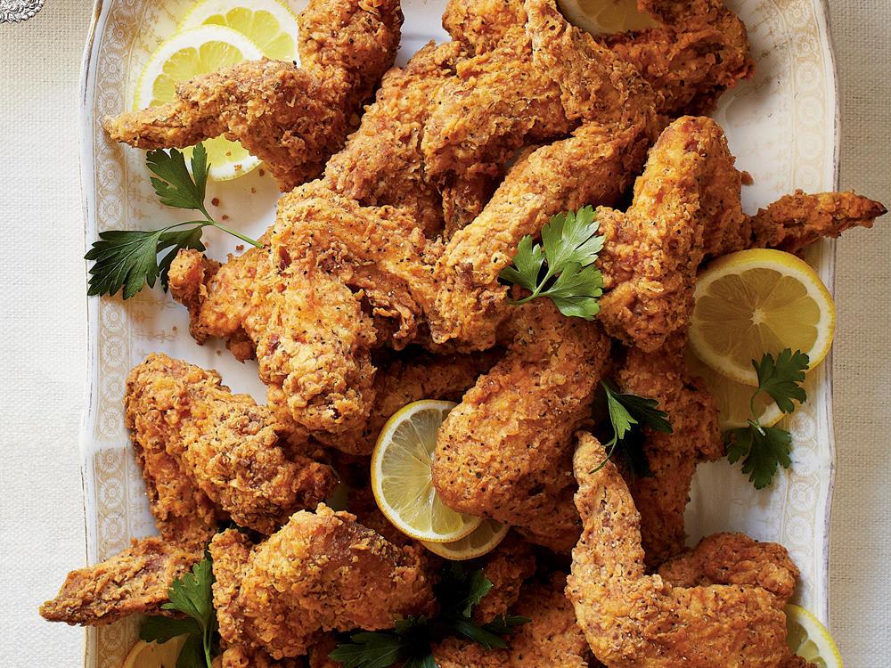 Deep Fried Chicken Wings Recipe  Fried Chicken Wings Recipe