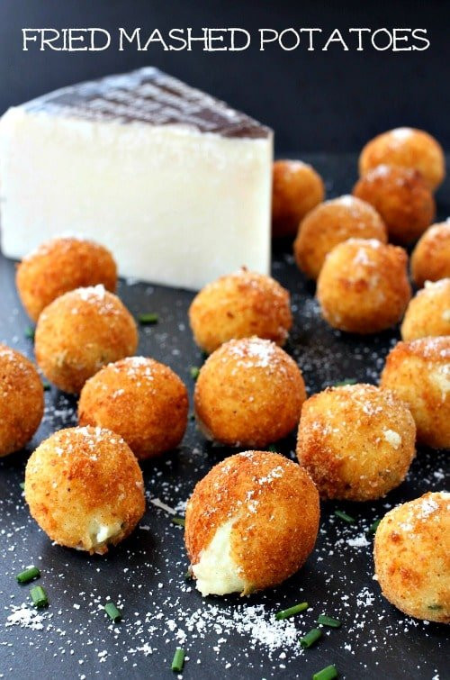 Deep Fried Mashed Potatoes  Fried Mashed Potatoes Mantitlement