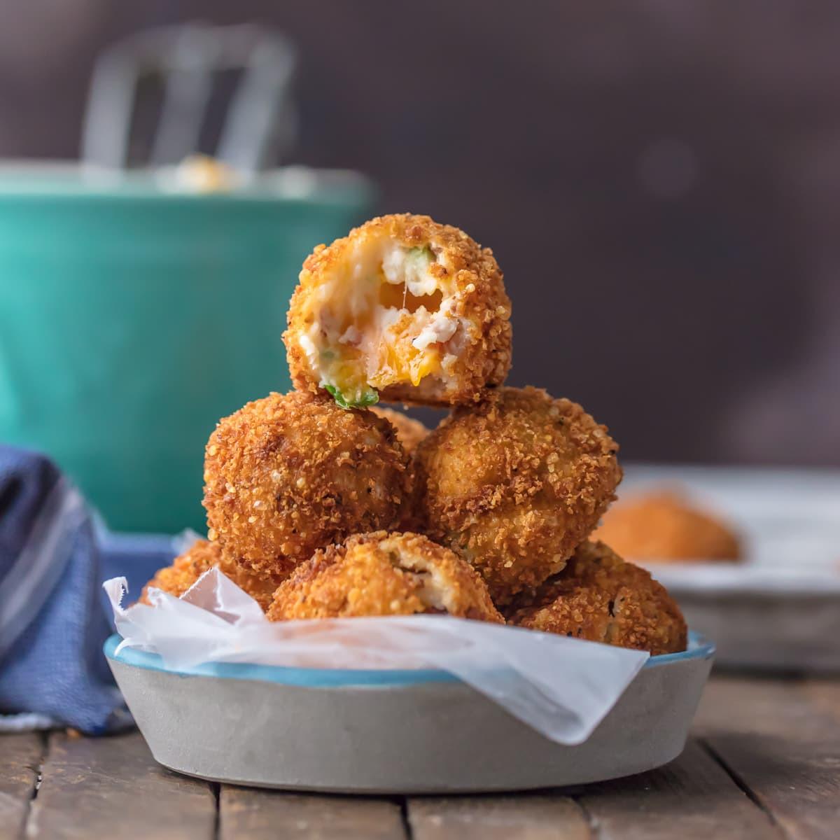 Deep Fried Mashed Potatoes  Deep Fried Loaded Mashed Potato Bites The Cookie Rookie