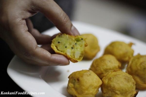 Deep Fried Mashed Potatoes  Deep Fried Spiced Mashed Potato Dumplings Batate Ambado