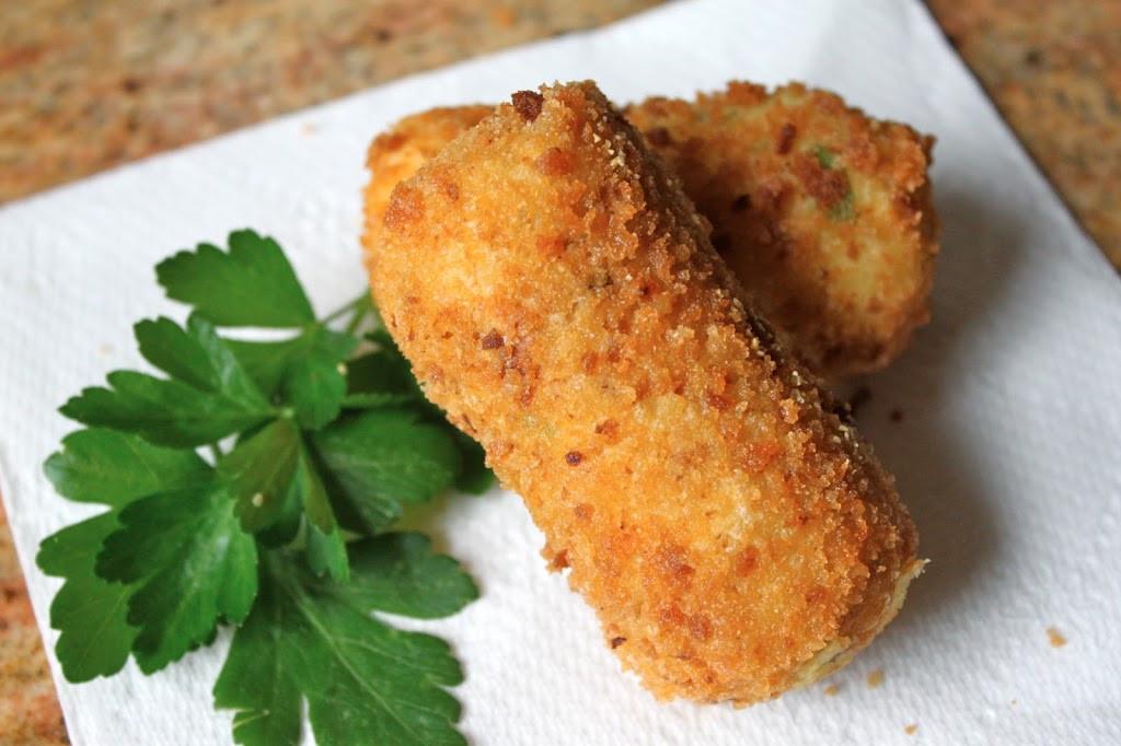 Deep Fried Mashed Potatoes  Potato Croquettes Crispy Deep Fried Mashed Potatoes