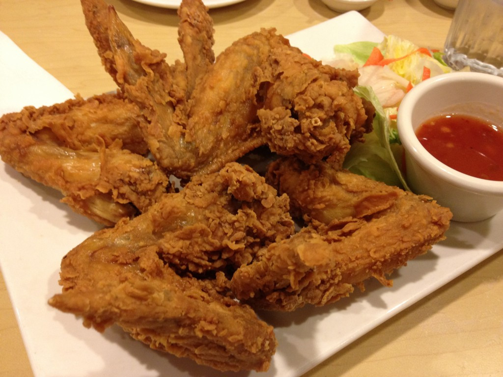 Deep Frying Chicken Wings  House of Pho – Sunnyvale CA