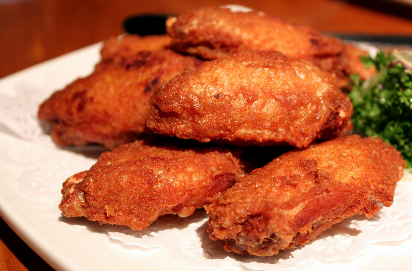 Deep Frying Chicken Wings  the simplest aphrodisiac No Signboard Seafood