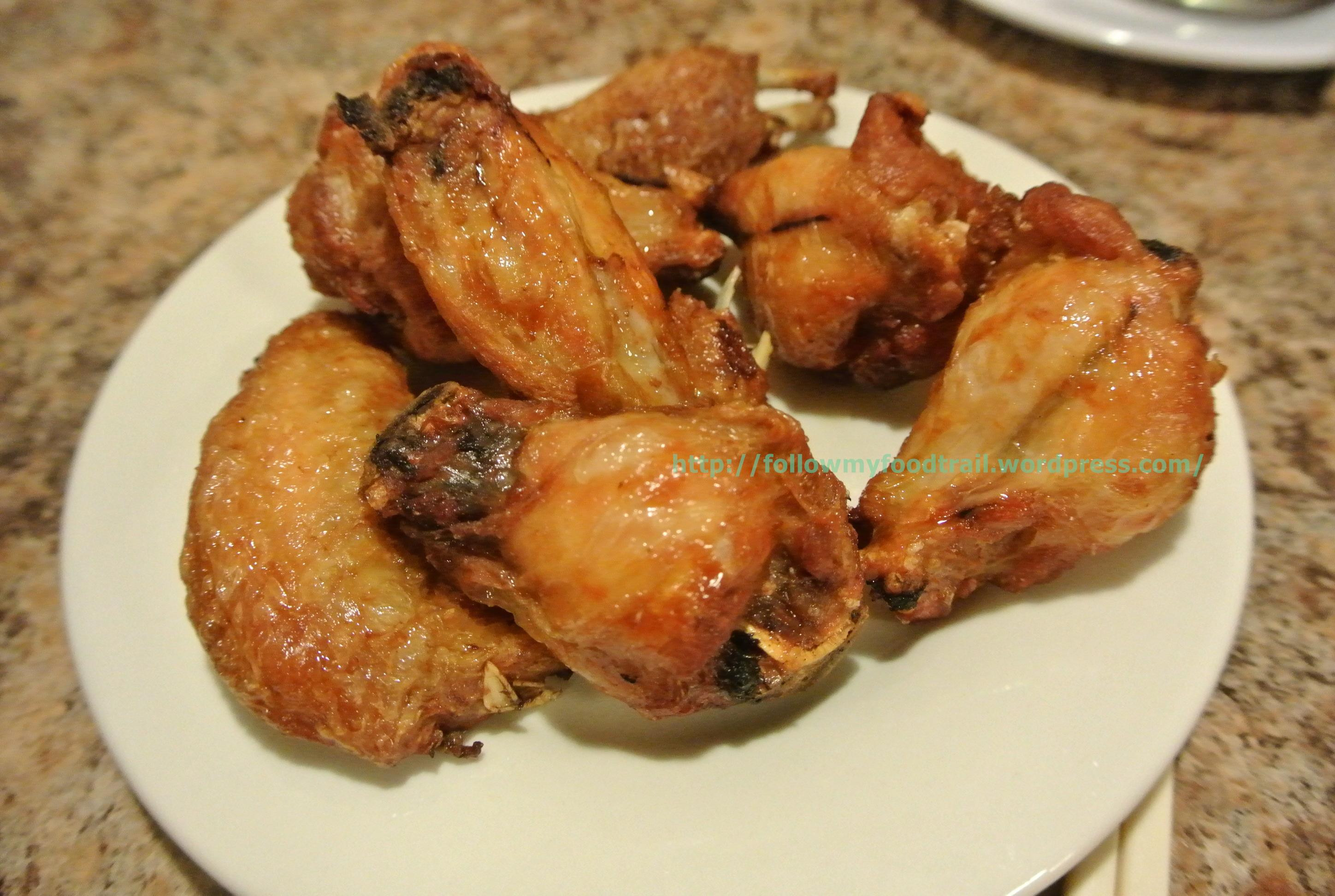 Deep Frying Chicken Wings  Dinner at Pho Hoan Pasteur Fusion Noodle House