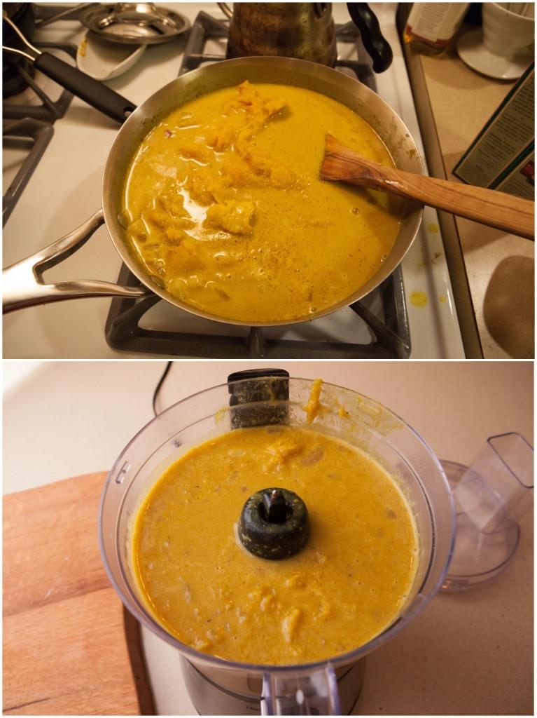 Delicata Squash Soup  Creamy Curried Delicata Squash Soup