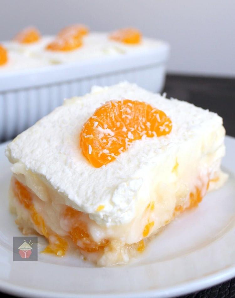 Delicious Easy Desserts  Easy Mandarin Dessert – Lovefoo s