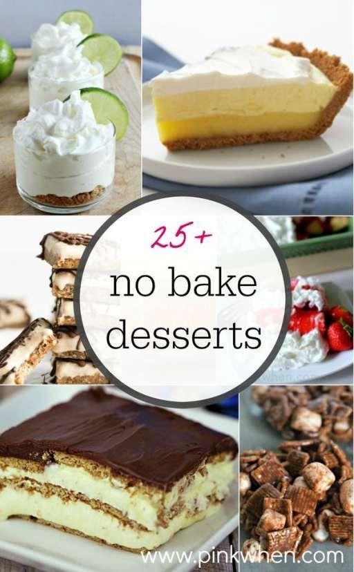 Delicious Easy Desserts  25 easy and delicious no bake dessert ideas
