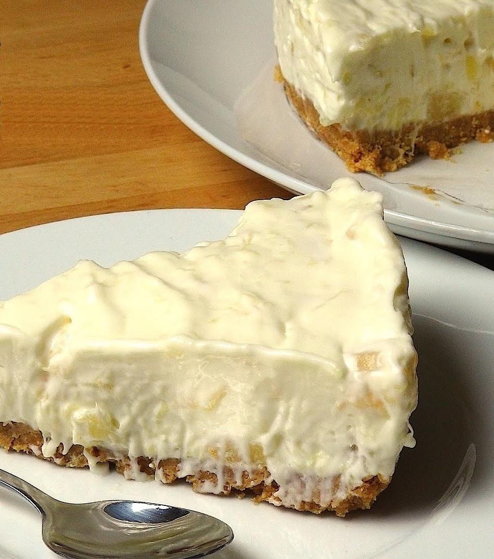 Delicious Easy Desserts  DELICIOUS & Sooooo Easy To Make No Bake Pineapple Cream