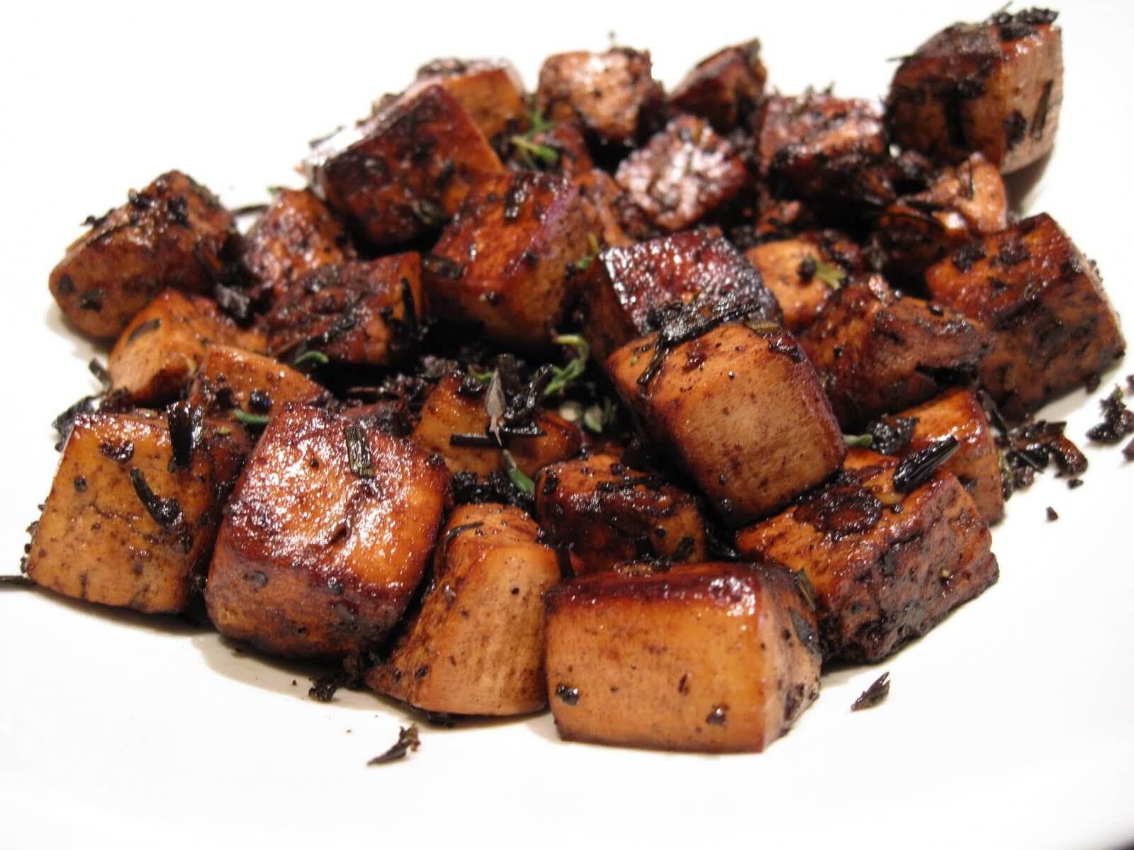 Delicious Tofu Recipes  The Best Basic Balsamic Tofu Recipe