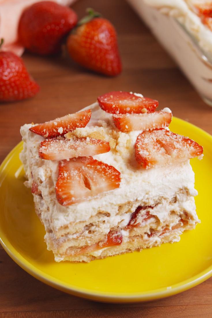 Delish Dessert Recipes  50 Easy Strawberry Shortcake Recipes Best Desserts
