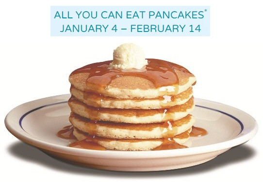 Denny'S All You Can Eat Pancakes  All You Can Eat Pancakes at IHOP thru 2 14 ConsumerQueen
