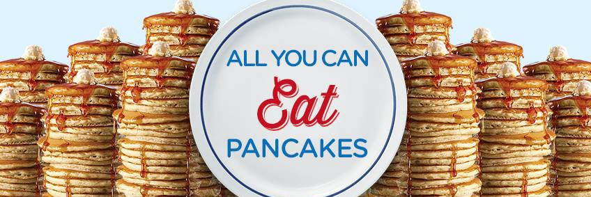 Denny'S All You Can Eat Pancakes  All You Can Eat Pancakes At IHOP