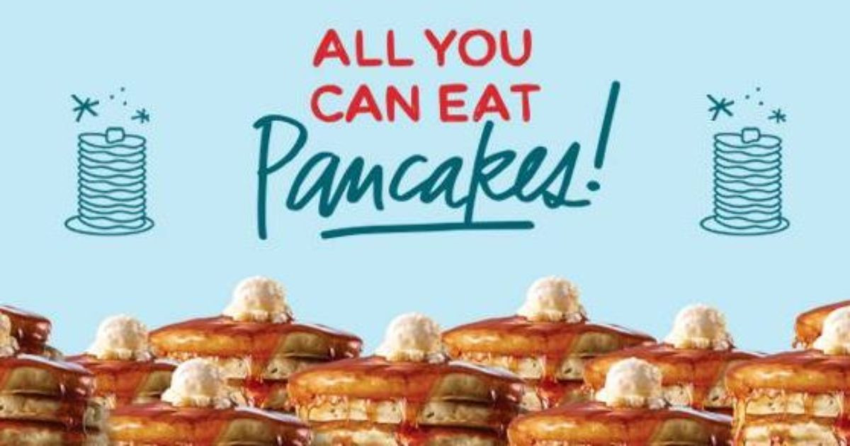 Denny'S All You Can Eat Pancakes  IHOP offers all you can eat pancakes through Feb 14