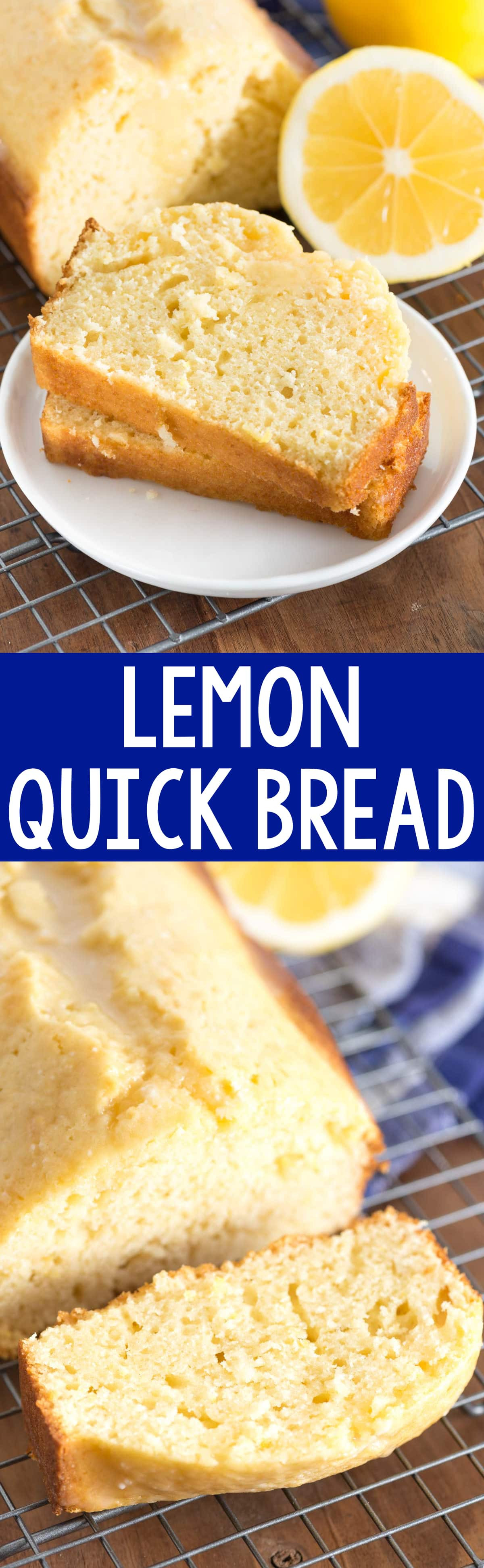 Dessert Bread Recipes  Lemon Quick Bread Crazy for Crust