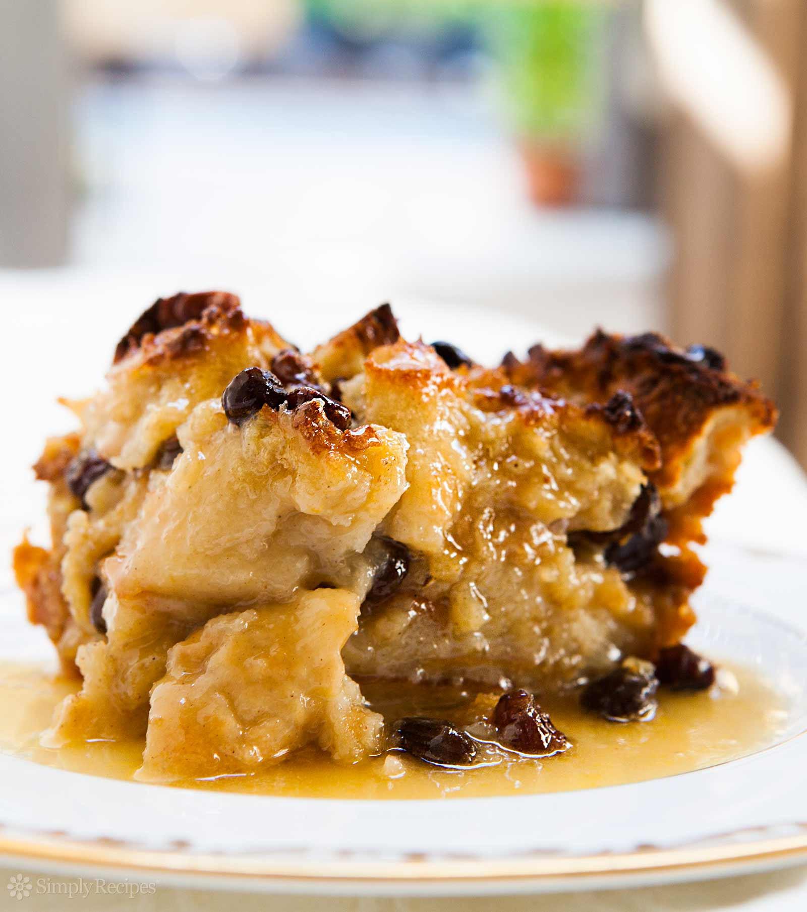 Dessert Bread Recipes  Bread Pudding Recipe