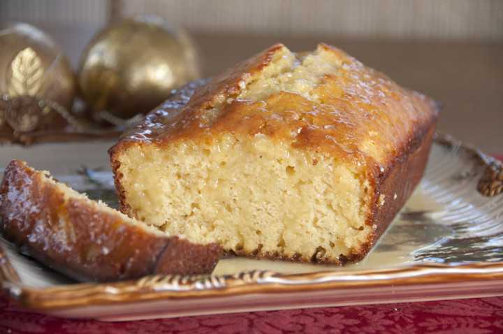 Dessert Bread Recipes  Orange Glazed Eggnog Quick Bread