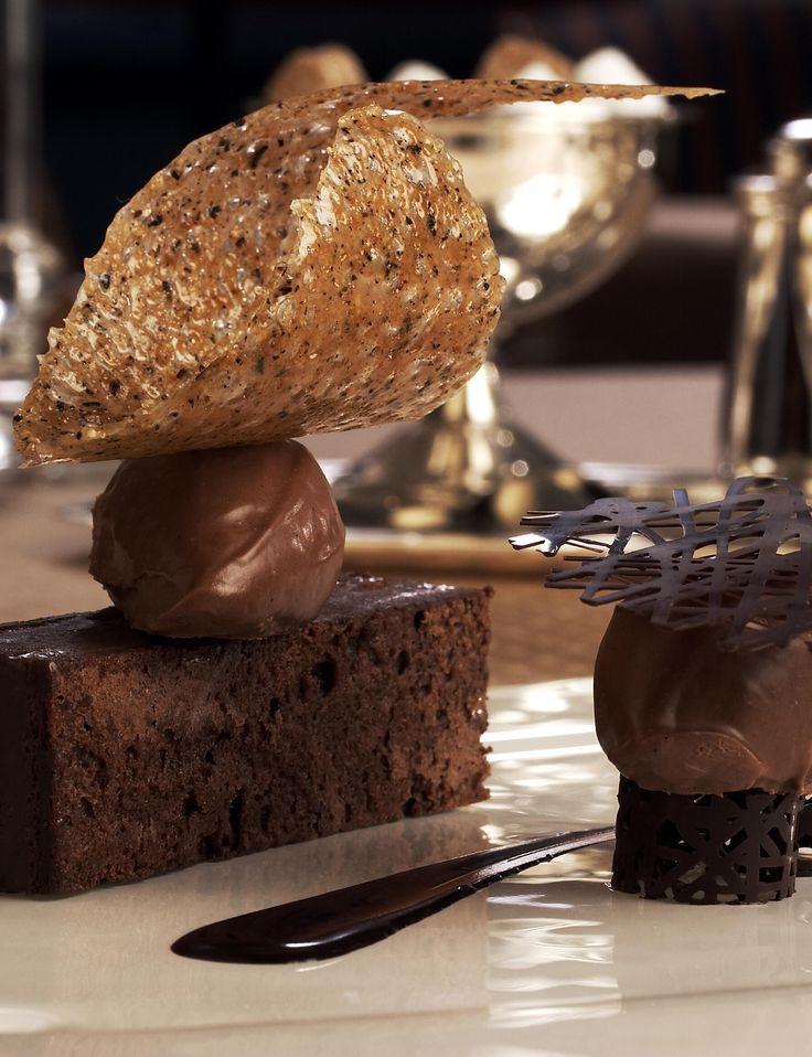 Dessert Colorado Springs  decadent chocolate dessert at Penrose Room at The