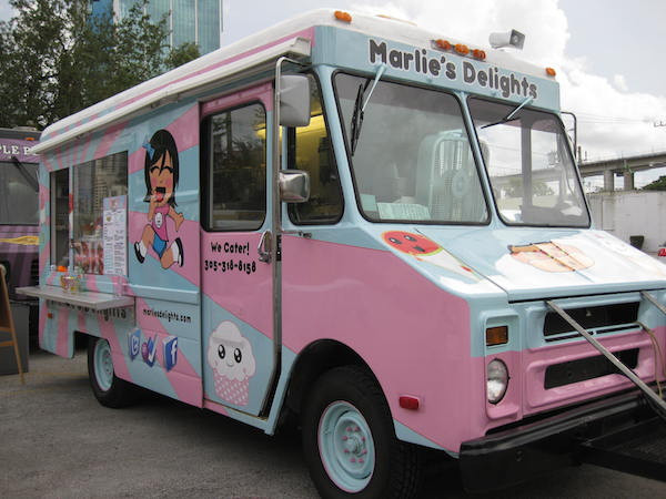 Dessert Food Truck  Marlie s Delights Food Truck – CLOSED