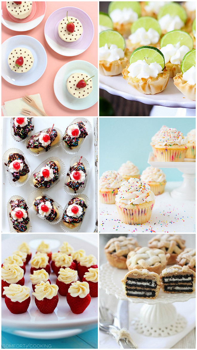 Dessert For A Crowd  6 Fave Mini Desserts For a Crowd