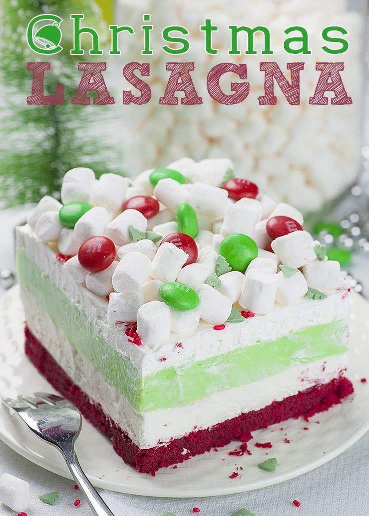 Dessert For Christmas  Christmas Lasagna OMG Chocolate Desserts