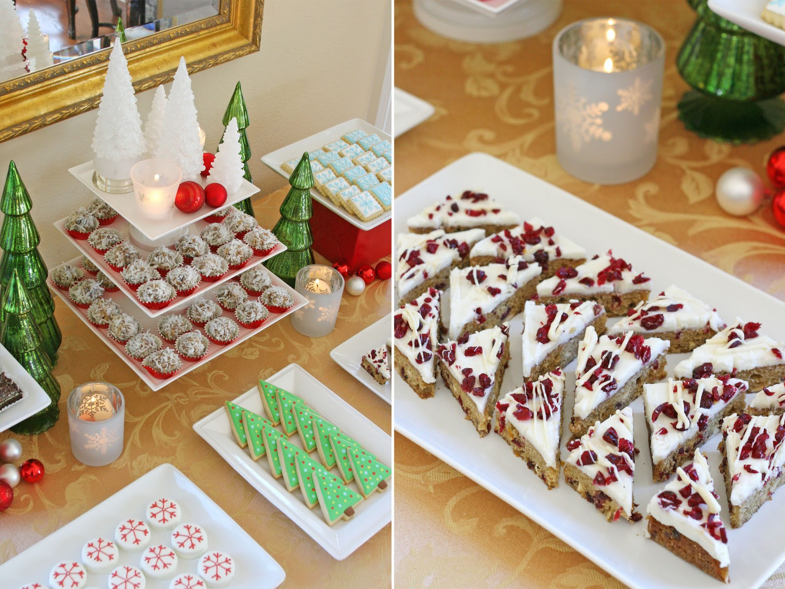 Dessert For Christmas  Classic Holiday Dessert Table – Glorious Treats