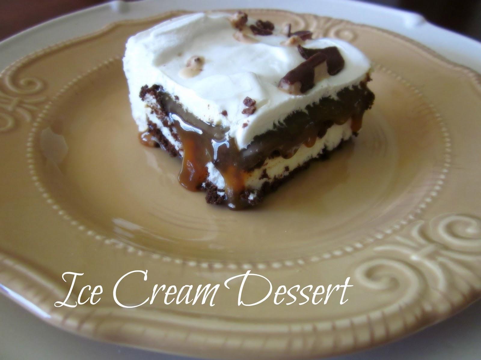 Dessert Ice Cream  Honey I m Home An Easy & Refreshing Ice Cream Dessert