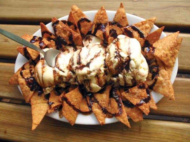 Dessert Nachos Bww  Fiesta Dessert Nachos