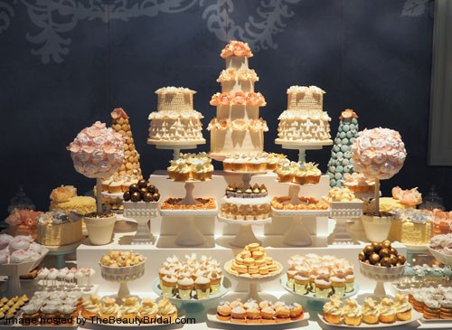 Dessert Table Wedding  OMG Luxury wedding cake in The UAE