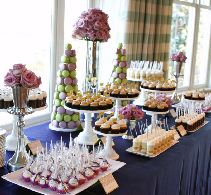 Dessert Table Wedding  Cocoa & Fig Independent Wedding Association