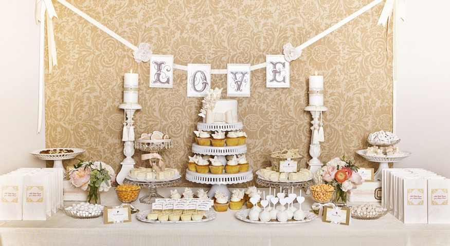 Dessert Table Wedding  Tips and Ideas for Outstanding Wedding Dessert Tables