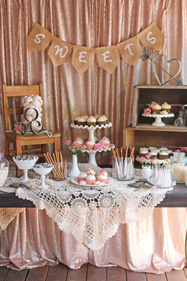 Dessert Table Wedding  Vintage Wedding Dessert Table – Glorious Treats
