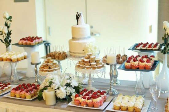 Dessert Table Wedding  Wedding Table Decorating – Cool Decoration Ideas For