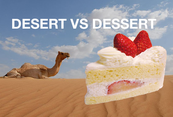 Dessert Vs Desert  Are You Making These mon Vocabulary Blunders