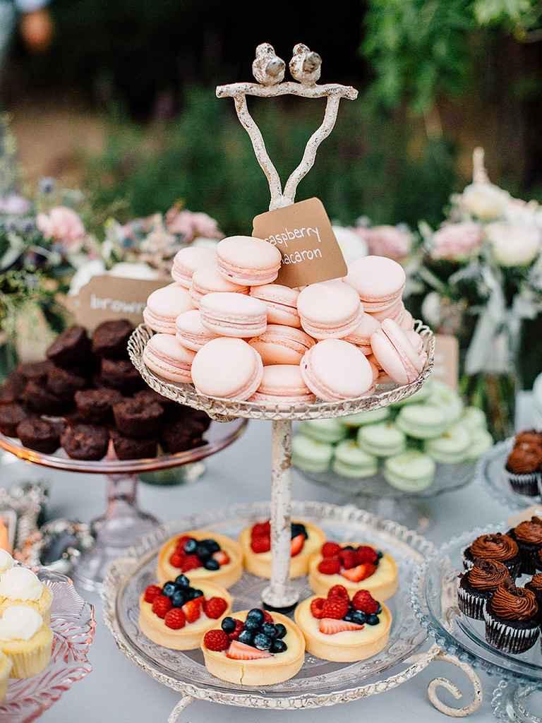 Dessert Wedding Reception  20 Creative Wedding Dessert Buffet Ideas