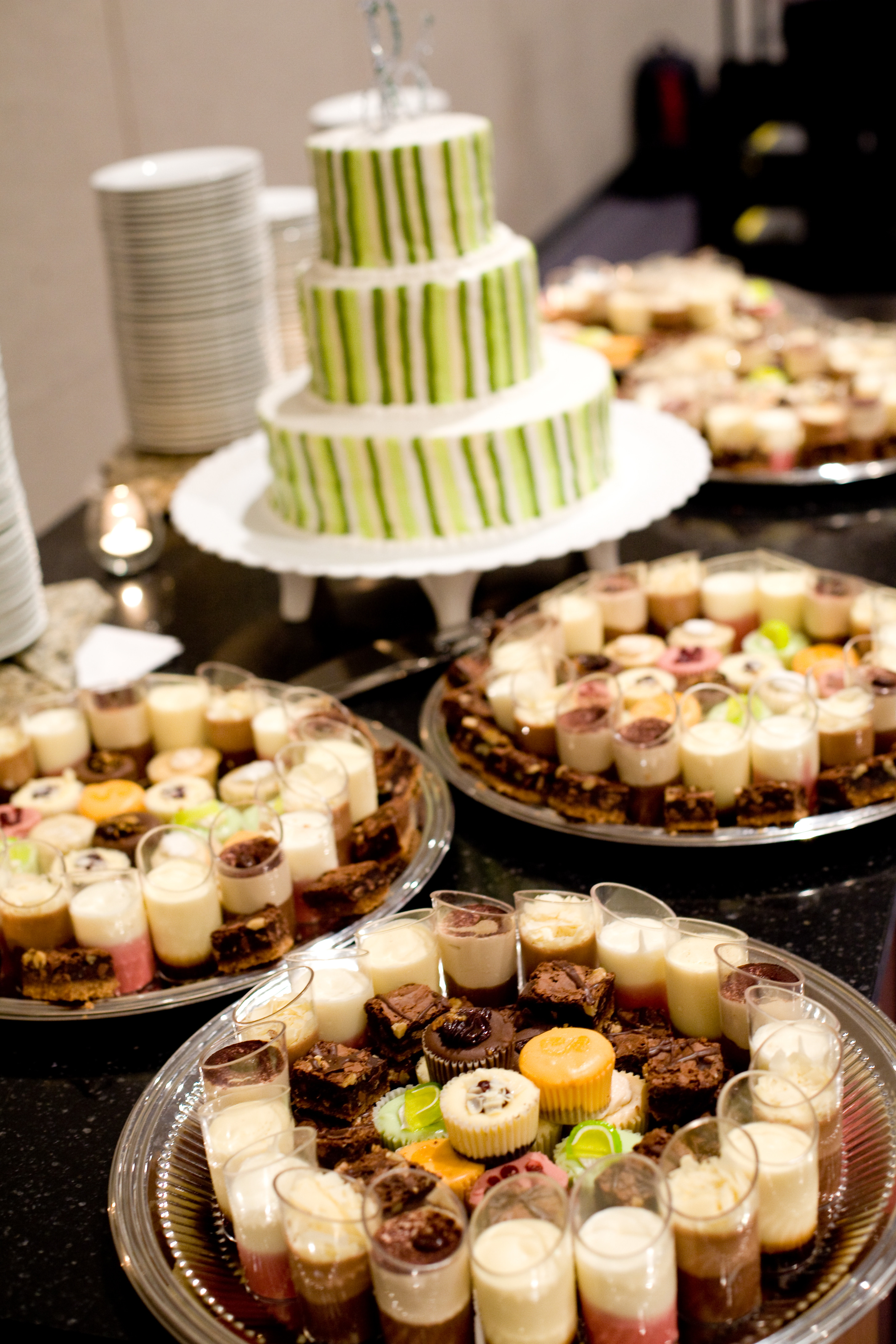 Dessert Wedding Reception  Wedding Cake and Dessert Ideas South Dakota