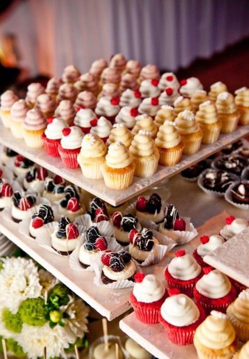 Dessert Wedding Reception  Delicious Wedding Mini Desserts