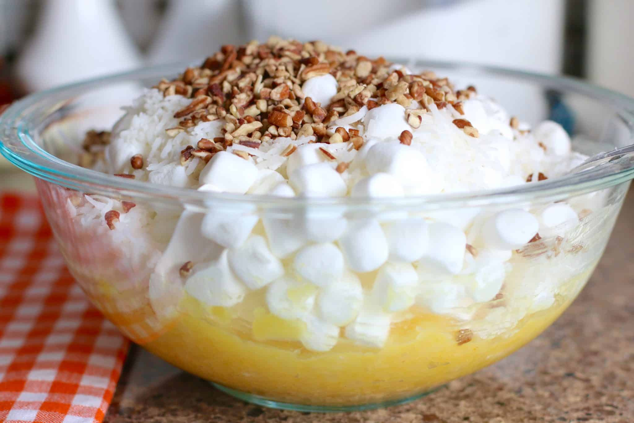 Dessert With Crushed Pineapple And Cool Whip  Pineapple Fluff The Country Cook
