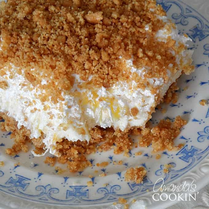 Dessert With Crushed Pineapple And Cool Whip  crushed pineapple cool whip dessert