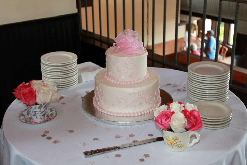Desserts By Rita  Beautiful bridal shower cake Yelp