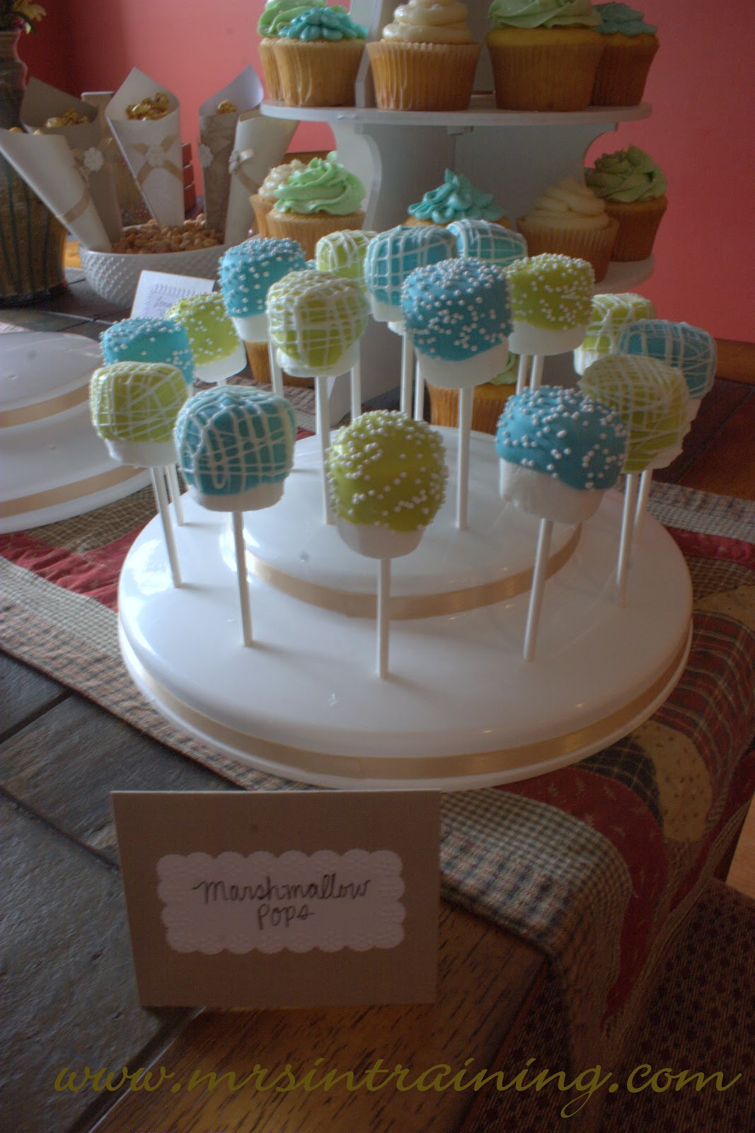 Desserts For Baby Shower  Mrs in Training