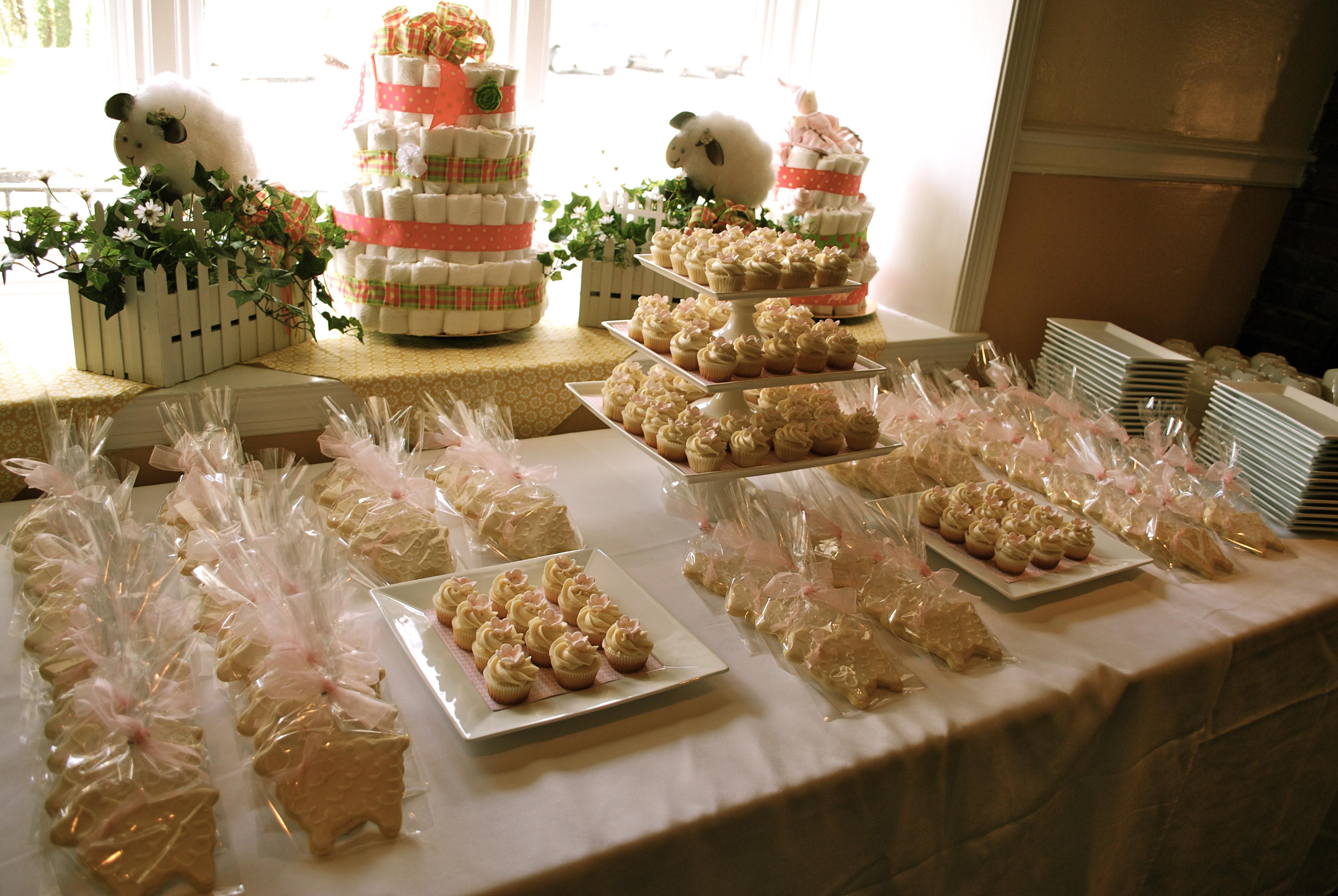 Desserts For Baby Shower  Dessert Tables