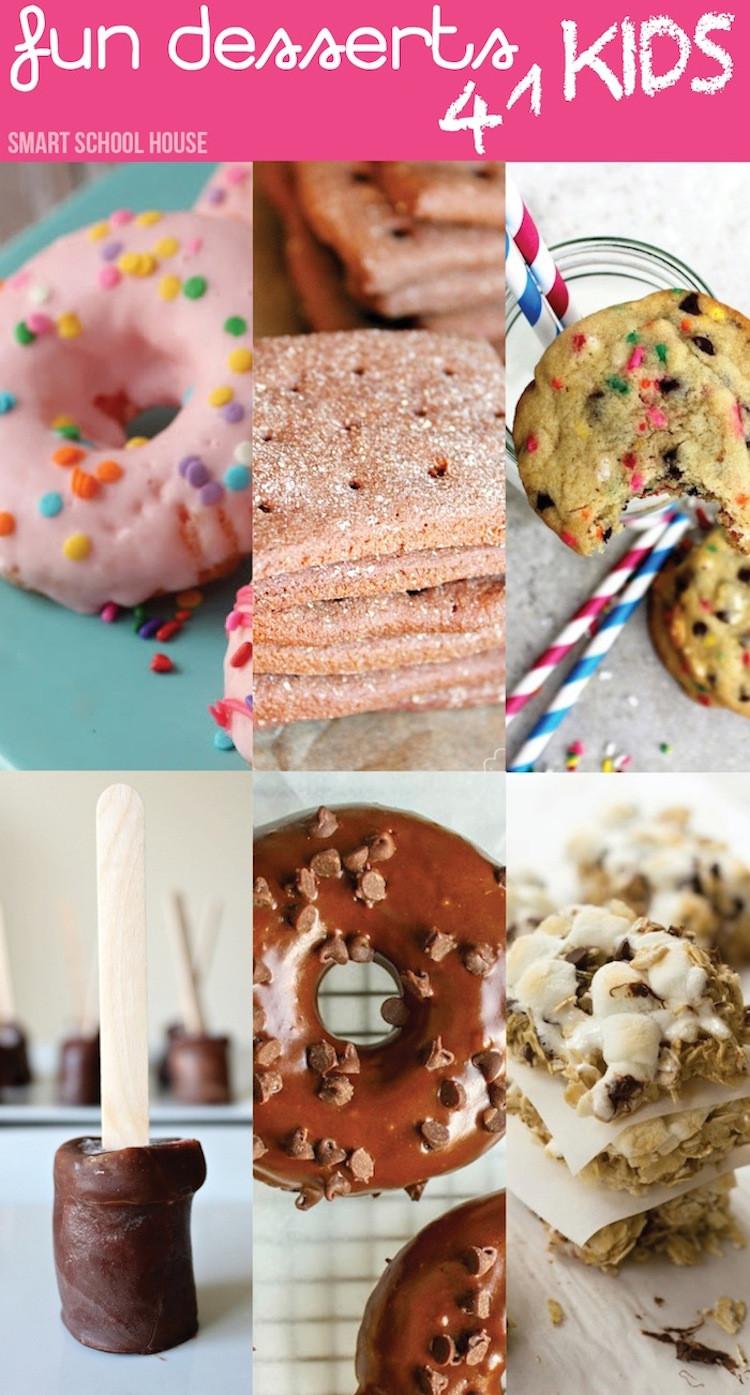 Desserts For Kids  Fun Desserts for Kids Smart School House