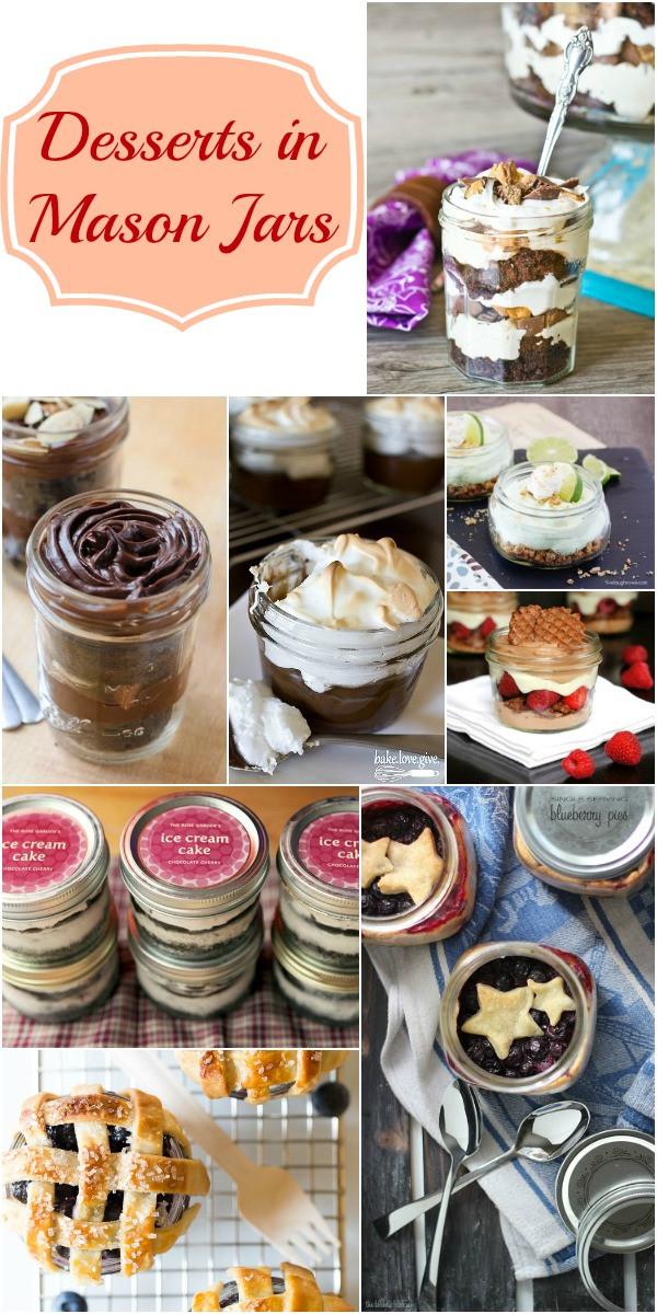 Desserts In Mason Jar  Desserts in Mason Jars Collection Moms & Munchkins