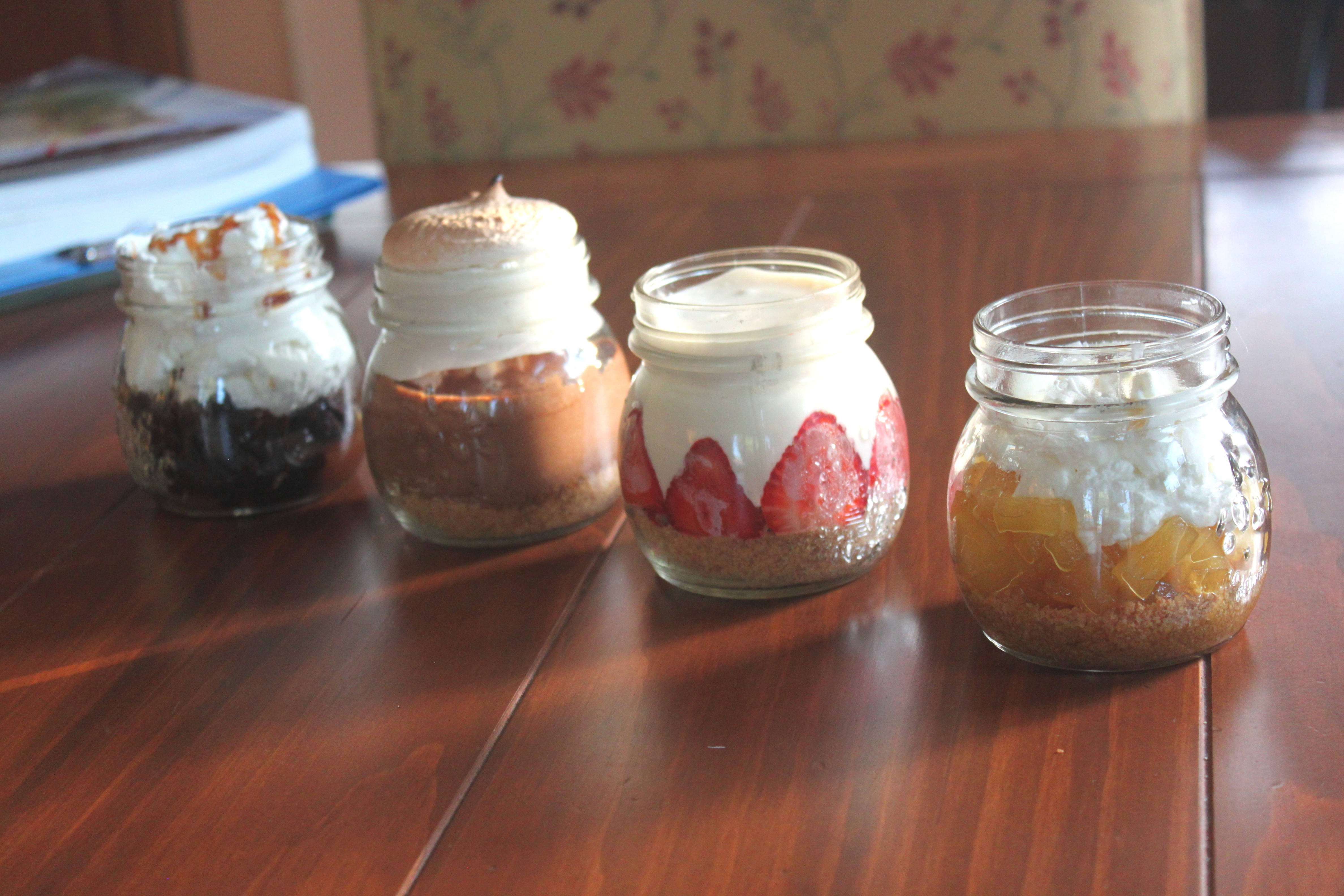 Desserts In Mason Jar  Mason Jar Desserts 4 Ways I've Sold My Soul to
